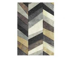 Teppich »BELIS PARKETT«, merinos, rechteckig, Höhe 13 mm, handgearbeiteter Konturenschnitt, beige, 200 cm x 290 cm x 13 mm