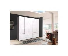 WIEMANN Falttürenschrank »Loft« Glasfront, beige, 250 cm x 216 cm x 58 cm