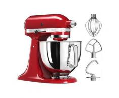 KitchenAid Küchenmaschine Artisan 5KSM125EER, 300 W, 4,8 l Schüssel, 300 Watt, Empire Rot