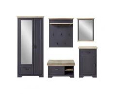 Innostyle Garderoben-Set »Jasmin«, (Set, 5-tlg), grau