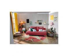 TOM TAILOR Schlafsofa »EASY SLEEP«, mit 2 Rückenkissen, Breite 198 cm, Matratzenbreite 140 cm, orange, Struktur grob TCU