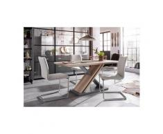 Homexperts Essgruppe »Jax«, Breite 160 cm mit 4 Stühlen