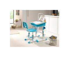 Vipack Kinder-Schreibtisch und Stuhl »Comfortline«, ergonomisch höhenverstellbar, weiß