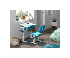 Vipack Kinderschreibtisch »Comfortline« (Set, mit Stuhl), ergenomisch höhenverstellbar, weiß