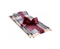 Lattenrost, »Dura Flex LR-K«, Beco, 28 Leisten, Kopfteil manuell verstellbar, Set, 7 Zonen, ideal für Doppelbetten, 90 cm x 200 cm x 7,5 cm