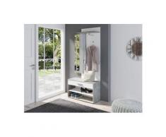 Homexperts Garderoben-Set »Janus«, (3-tlg), grau