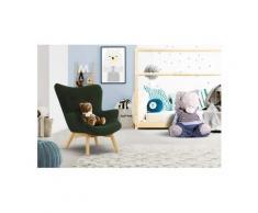 Lüttenhütt Sessel »Duca Mini«, in kleiner Ausführung für Kinder, grün, Struktur fein