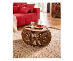 SIT Couchtisch »Rattan Vintage«, Maße (B/T/H): 80/80/40 cm, SIT-Möbel