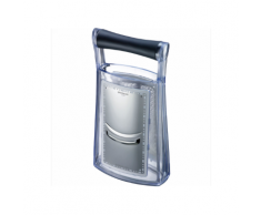 Westmark Technicus Turmreibe Duo Extra Grob + Gurkenhobel Silber Schwarz Transparent 14342270