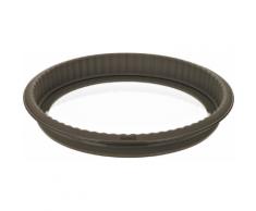Lurch Flexiform Quiche GB Form 26cm Silikon Glas Braun 00085009
