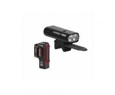 Lezyne LITE DRIVE 1000XL / STRIP PRO PAIR Heckbeleuchtung + Frontbeleuchtung (Set) LED