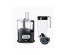 Braun IdentityCollection FP 5150 Kompakt-Küchenmaschine 1000 W BPA-frei 11 variable Geschwindigkeiten Schwarz/Edelstahl 0X22011011