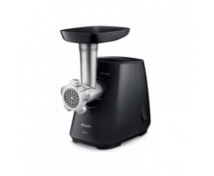 Philips Viva Collection Fleischwolf schwarz/silber HR2721/00