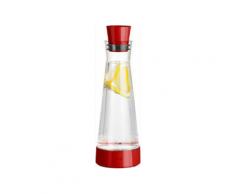 Tefal Flow Slim Friends Kühlkaraffe 1L Spülmaschinengeeignet Glas ABS Transparent/Rot K305211212