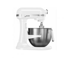 KitchenAid 5KSM7591X Küchenmaschine 6,9 l Edelstahl, Weiß 500 W