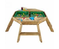 Oktagon Spieltisch aus Holz