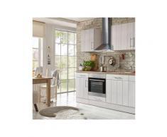 respekta küchenzeile »landhaus« wahlweise mit kühlschrank oder geschirrspüler