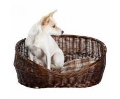 Hundekorb Willow braun, Maße: ca. 65 x 40 x 27 cm