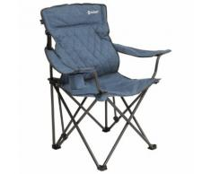 Outwell - Kielder - Campingstuhl Gr 87 x 54 x 100 cm blau/grau/schwarz