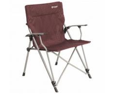 Outwell - Goya Chair - Campingstuhl Gr 68 x 63 x 90 cm rot/grau