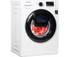 Waschmaschine AddWash WW4500 WW8EK44205W/EG AddWash, Fassungsvermögen: 8 kg, weiß, Energieeffizienzklasse: A+++, Samsung