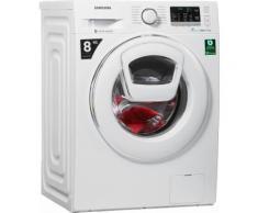 Waschmaschine AddWash WW5500 WW80K5400WW/EG, Fassungsvermögen: 8 kg, weiß, Energieeffizienzklasse: A+++, Samsung