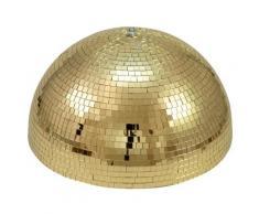 Eurolite Half Mirror Ball 40cm gold