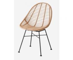 Kinder Rattan-Stuhl, Vintage-Stil sand von vertbaudet