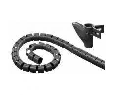 Goobay Robuster Spiralschlauch gegen den Kabelsalat »WireTube 2,5 m«