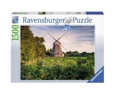 Ravensburger Puzzle »Windmühle an der Ostsee«, 1500 Puzzleteile, Made in Germany
