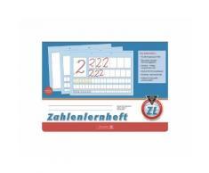 BRUNNEN Zahlenheft A4 quer Sonderlineatur (Lineatur ZL) »1044041«