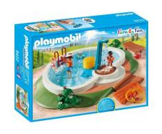 Playmobil® Konstruktions-Spielset »Swimmingpool (9422), Family Fun«