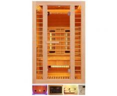HOME DELUXE Infrarotkabine »Redsun M Deluxe Plus«, 120x105x190 cm