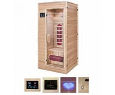 HOME DELUXE Infrarotkabine »Redsun S«, BxTxH: 90x90x190 cm, geeignet für 1 Person