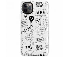 (Single / Fliesen) SOUL EATER - SPRACHBLASEN SET1 iPhone 11 Pro Max Handyhülle