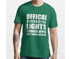 Offizielle Weihnachtsbeleuchtung Stringer oberen Essential T-Shirt