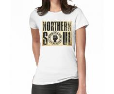 zunächst in Nordengland in den späten 1960er Jahren Frauen T-Shirt