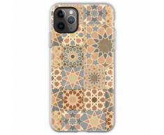 Vintage Mosaik Fliesen Design Flexible Hülle für iPhone 11 Pro Max