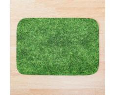 Grass Duschvorhang Badematte