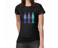 Lava Lampe Cool Bunte 90er Jahre Frauen T-Shirt