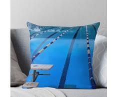 Schwimmbad - Blau & Cool Kissen