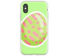 Poomki - Ostereier Dot Dash Flexible Hülle für iPhone XS