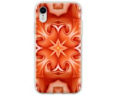 Geometrisches Muster der Rosenblätter Flexible Hülle für iPhone XR