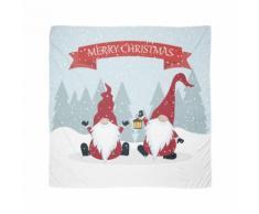 Frohe Weihnachten Gartenzwerge Tuch