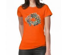 Adventskranz Frauen T-Shirt