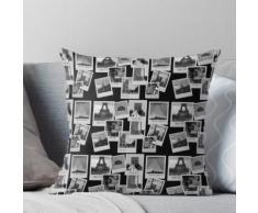 Paris Polaroid Pinnwand Kissen
