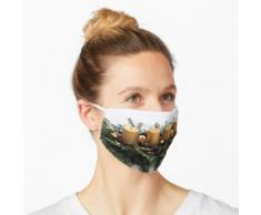 Adventsgesteck Maske