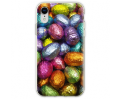 Schokoladen-Ostereier! Flexible Hülle für iPhone XR