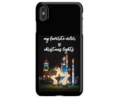 Meine Lieblingsfarbe ist Weihnachtsbeleuchtung BEST GIFT 2020 iPhone XS Max Handyhülle