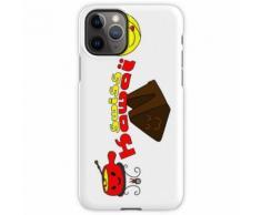 Schweizer kawaii - Fondue, Käse und Schokolade iPhone 11 Pro Handyhülle